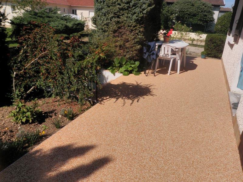 Granulat de marbre pour moquette de pierre tout savoir for Moquette terrasse exterieur