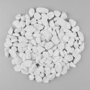 galet marbre blanc d coratifs pour vos ext rieurs prix. Black Bedroom Furniture Sets. Home Design Ideas