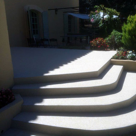 r novation de terrasse aix en provence en moquette de pierre. Black Bedroom Furniture Sets. Home Design Ideas