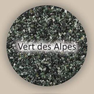 vert des alpes